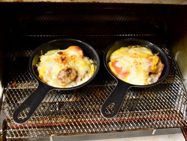 プチスキレットで焼いたカレードリア