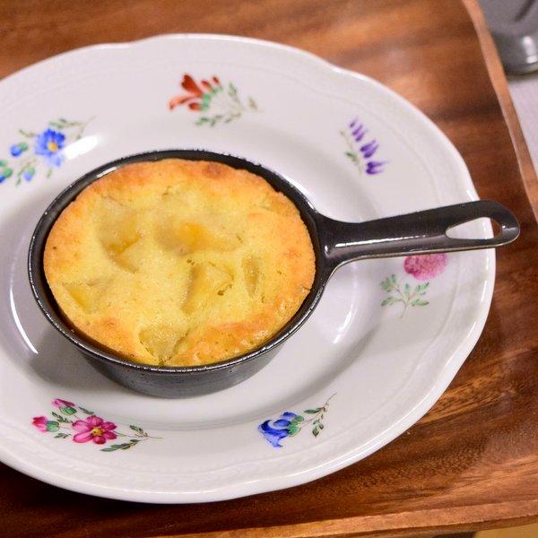 プチスキレットで焼いたリンゴのケーキ2