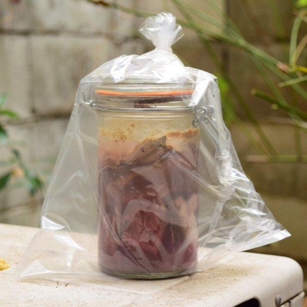 2ヶ月以上発酵させた自家製シュールストレミング