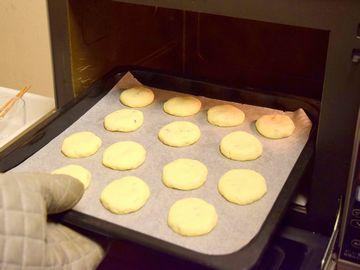 160℃のオーブンで18分焼いた