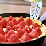 スキレットでイチゴのチーズタルトを作る 第13回世界料理研究会(後編)