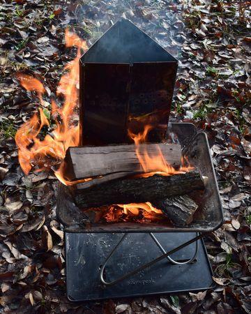 チャコスタで炭火もおこす
