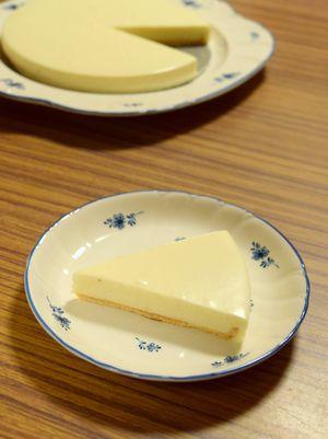 酒粕レアチーズケーキ