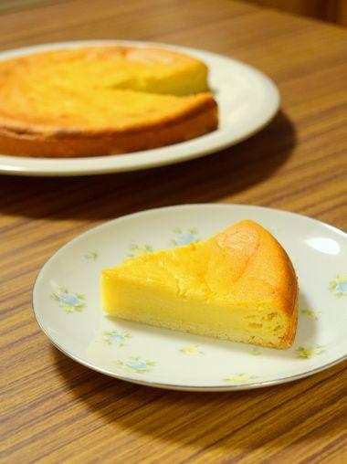 酒粕ベイクドチーズケーキ