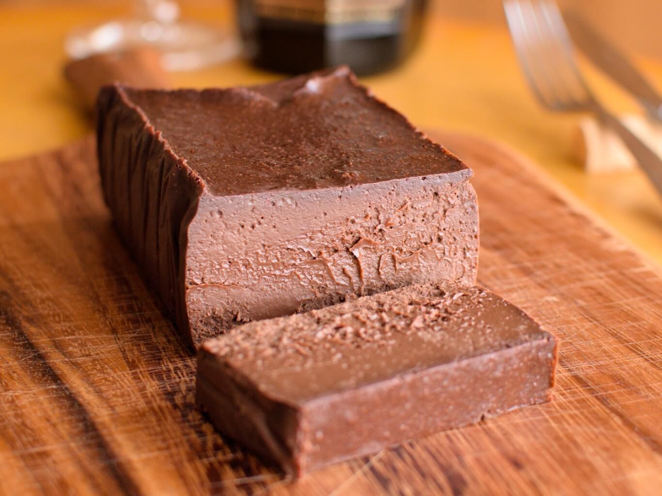 半生チョコレートケーキ