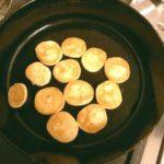 スキレットでクッキーを焼く