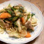 甜麺醤(テンメンジャン)を作り、それで料理も作る